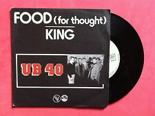 Vinyle, UB40, 45 Tours VINTAGE, FOOD FOR THOUGHT/KING