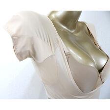 Reusable Washable Sweat proof Armpit Body T Shirt w/ Underarm Sweat Pads
