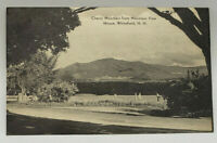 Postcard Real Photo Cherry Mountain from Mountain View House Whitefield, NH 1940