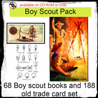 Boy Scout collectors book pack | camping, woodcraft resources | story books