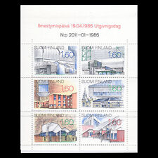 Finland 1986 - Architecture Buildings Booklet - Sc 737 Mnh