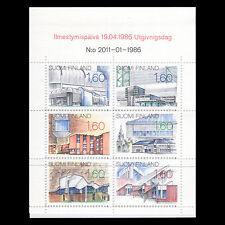 Finland 1986 - Architecture Buildings Booklet - Sc 737 MNH