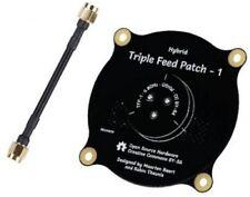 Hybrid Triple Feed Patch 5.8GHz 9.4dBi RHCP LHCP FPV RP-SMA Antenna orangeRX UK