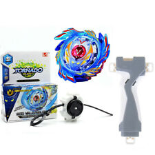 Kids Toys Beyblade Burst Evolution Kit Set Arena Stadium Gift w/ Launcher + Grip