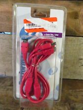 Game Boy Color Red Link Cable NEW 2000 Interact