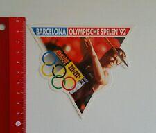 Aufkleber/Sticker: Barcelona - Olympischen Spiele 1992 - Mars / m&m (1506166)