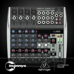 Behringer Xenyx Q1202USB 12-Input Mic/Line Mixer w/ USB