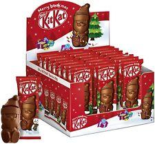 KitKat Babbo Natale Mini Snack Wafer Ricoperto Cioccolato Latte espositore 24Pz