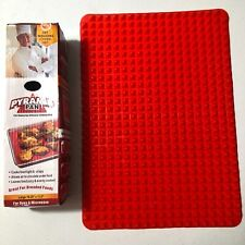 Pyramid Pan Silicone Cooking Mat For Oven & Microwave NEW BJ
