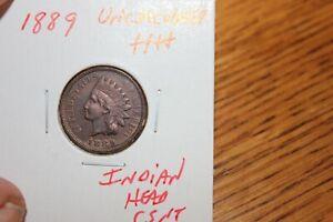 1889    UNC+++  INDIAN HEAD CENT