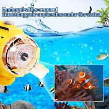 Infrared Control SpyCam Aqua Rc Submarine with 0.3Mp Camera & Light Rc Toy E3X7