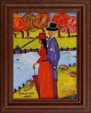 Wandbild Pavlov Boris 1928-2005 russ.Expressionist-Bewässerung i.d. Provence xxx