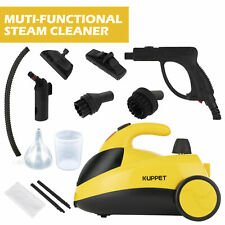1500W 51Oz Mini Portable Pressurized Steam Cleaner w/Multi-Purpose Brushes&Heads