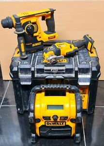 Dewalt 18V Brushless 3 Piece Tool Kit With BOX CHEAP BARGAIN !!