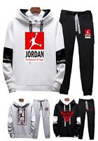 Hot Mens Michael Air Legend 23 Jordan Tracksuit Hoodie & Pants Men Sportswear