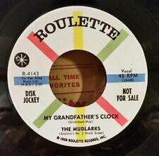 "Mudlarks Roulette 4143 ""MY GRANDFATHER'S CLOCK"" (R & ROLL)  PROMO  / MAKE OFFER"