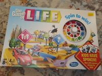 Barely used - The Game of Life Board Game