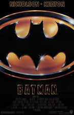 BATMAN Movie MINI Promo POSTER Michael Keaton Jack Nicholson Kim Basinger