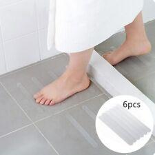 6Pcs Anti Slip Bath Mat Grip Stickers Shower Strips Safety Tape Mat PVC Pad