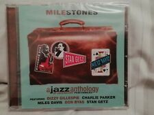 Milestones - A Jazz Anthology of Legendary Performances - New - sealed CD