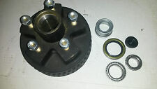 "Genuine Dexter Trailer Axel 7"" Electric Brake Drum 5 x 4.5"" Axle 2000# hub"