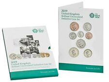 More details for 2019 royal mint uk brilliant uncirculated 8 coin definitive coin set collection