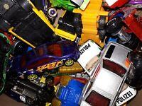 0,5 Kg Spielzeugautos LKW Konvolut Hot Wheels, Matchbox und andere Hersteller