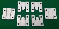 4 x Flush Mount Headboard Hanging wall interlocking Brackets FREEPOST