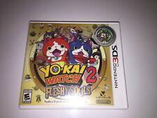 Yo-kai Watch 2: Fleshy Souls Nintendo 3DS Game Tested Working Lot