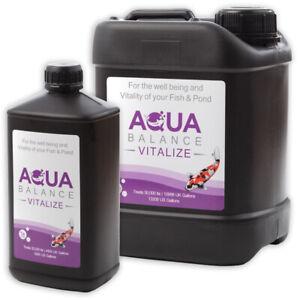 Aqua Source Aqua Balance Vitalize Pond Vitamin Ulcer Healthy Koi Water Clarifier
