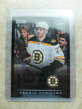 13-14 Panini Score Hot Rookies RC #646 Black Ice Border SSP DOUGIE HAMILTON