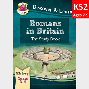 KS2 Ages 7-9  History Romans in Britain Study Book CGP