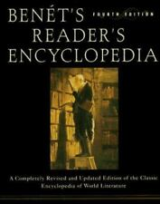 BENET'S READER'S ENCYCLOPEDIA: FOURTH EDITION By Bruce Murphy - HC, (BRAND NEW )