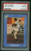 1991 Mike Mussina Classic #T17 Rookie RC Graded PSA 10 GEM MINT YANKEES