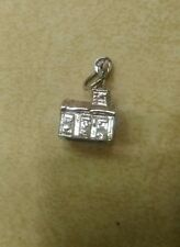 Sterling Silver Charm- Church  STANHOPE  Lords Prayer in Lens