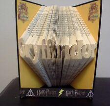Book Folding PATTERN Measure, Mark and Fold, Harry Potter, Gryffindor