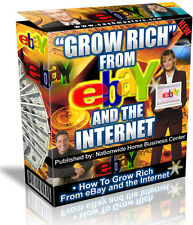 GROW RICH FROM EBAY AND THE INTERNET  PDF EBOOK  RESALE RIGHTS