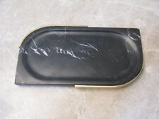 Platte Servierplatte Tablett Marmor gemasert asymetrisch 28cm MANUFAKTURWARE neu