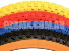Old School bmx Duro BLACK Comp 3 with Gumwall Tyres 24 X 1.75 Pair BMX Tyres