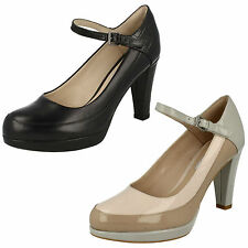Clarks High Heel (3-4.5 in.) Slim Shoes for Women