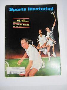 Sports Illustrated Magazine- August 26, 1968 Rob Laver U.S. Open Tennis