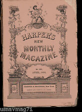 Harper's Monthly Magazine, Apr 1891, The State of Wisconsin, The French Army,