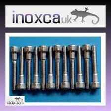 12 m5 x 30 Presa In Acciaio Inox Vite a testa cilindrica Allen Bullone a2-70 HEX Hexagon Sock a2