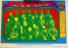 Quicksilver Messenger Service | Art by Alton Kelley - Original 1967 Postcard