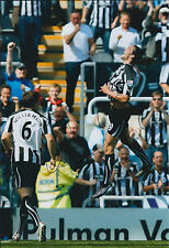 Andy CARROLL GENUINE SIGNED Autograph 12x8 Photo AFTAL Newcastle United