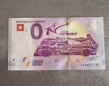 Billet Michel Vaillant REBELLION Vaillante 0 euro