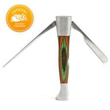 3-in-1 Tool Czech Pipe Tool - Spectrum Colored Oak Wood
