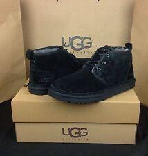 UGG Australia Boots Neumel Black Shearling Sheepskin US Size 10 Men