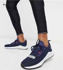 Puma Hybrid NX Mens Running Shoes - Navy runner walking gym bounce flex 9uk men