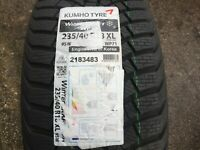 1 X NEW 235 40 18 KUMHO WINTERCRAFT WP71 TYRE 235/40 R18 95W XL 2183483 DOT27/19